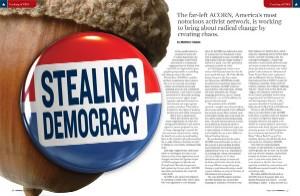 Stealing Democracy - Matthew Vadum