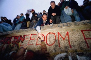 Fall of the Berlin Wall, November 9, 1989