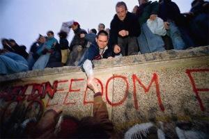 Fall of the Berlin Wall, November 9, 1989