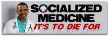 Socialized Medicine to Die For